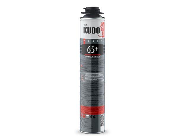 Kudo Пена монтажная профессиональная зимняя ABSOLUT Proff 65+ 920 г.